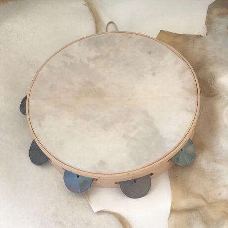 pelle tamburi bianca