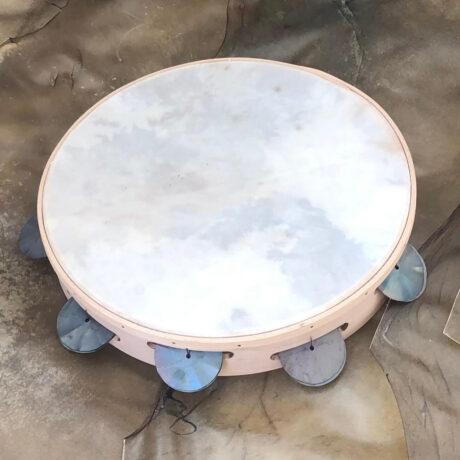 pelle tamburi trasparente