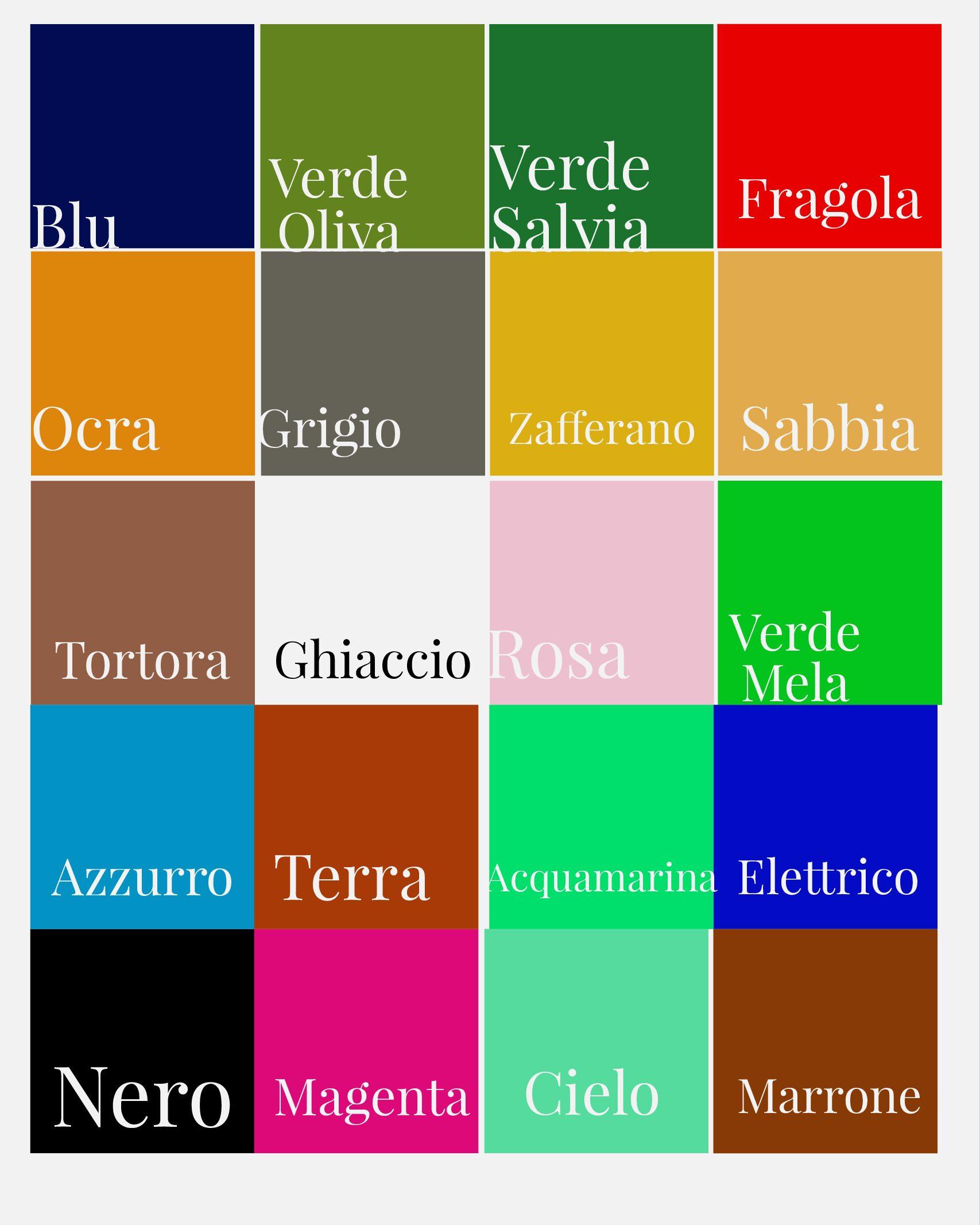 Pallette colore camoscio